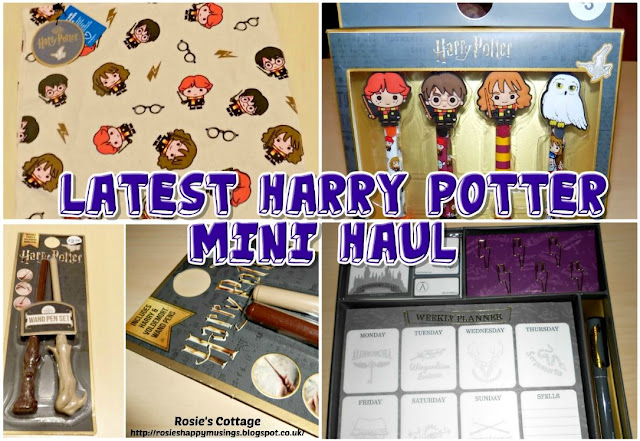 Latest Harry Potter mini haul: Does anyone else adore stationery as much as I do?