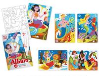 Logo Sabbiarelli : inventa una storia e vinci gratis album delle Sirene e 12 penne di sabbia