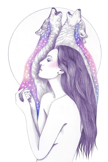 """Cosmic Tears"" by Andrea Hrnjak 
