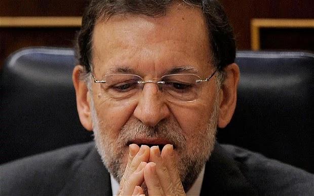 Mariano Rajoy disse que ele já havia atuado em defesa da lei e agradeceu a polícia espanhola pelo exercício das suas funções.