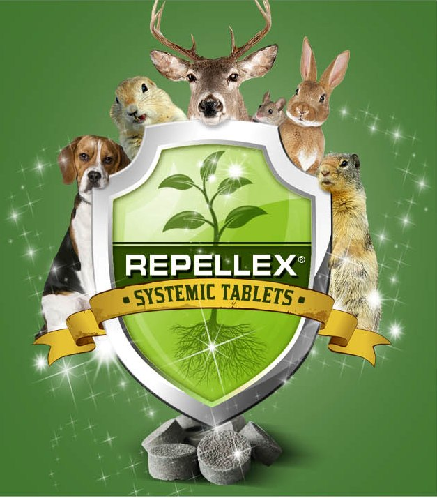 Not Just For Deer Logo Supplied By Repellex Usa Inc