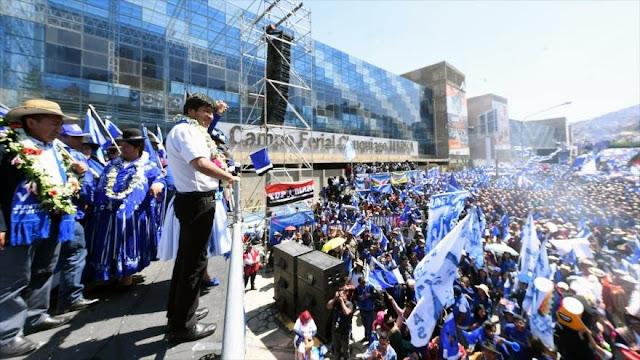 Morales: Votar a la derecha provocará una crisis como en Argentina