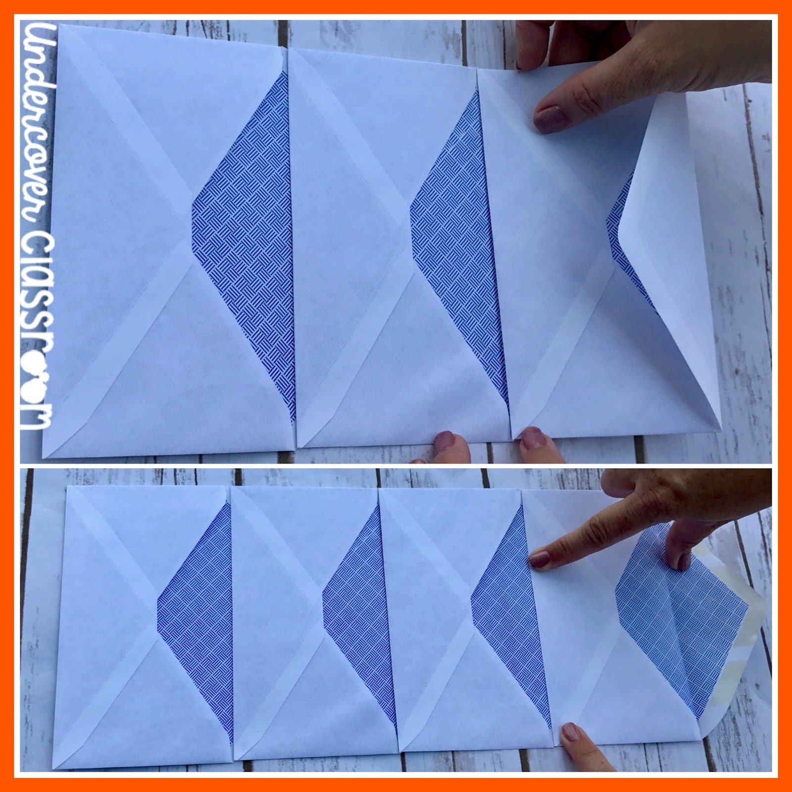 Undercover classroom accordion envelope books add as many envelopes as you need for your project i used six for this envelope book solutioingenieria Images