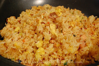 Smoked Salmon Fried Rice Recipe
