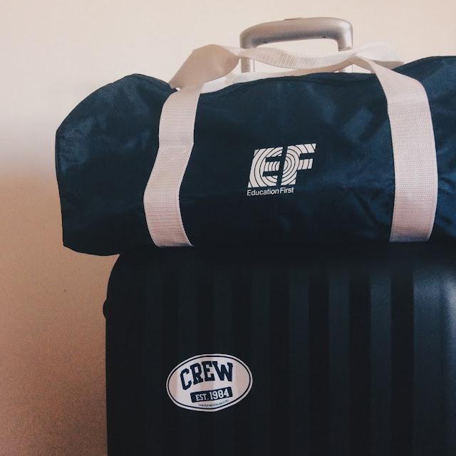 EF education first voyage séjour linguistique valise France my