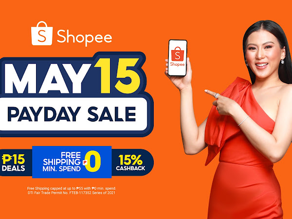 Shopee and Alex Gonzaga Make Akinse Shopping More Fun, Rewarding, and Worthwhile at Shopee 5.15 Payday Sale