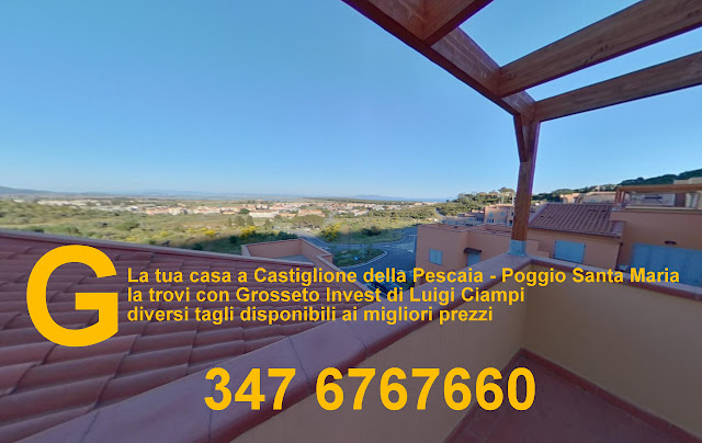 Castiglione della Pescaia: Poggio Santa Maria - Grosseto Invest di Luigi Ciampi👈 appartamenti di vari tagli ai migliori prezzi -