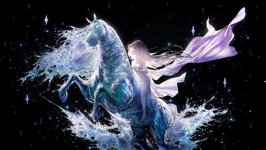 Frozen 2, Elsa, Water Horse, 4K, #7.581 Wallpaper