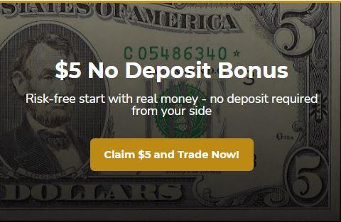 Saracen Markets $5 Forex No Deposit Bonus