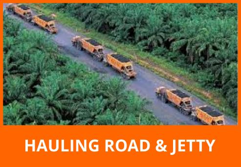 HAULING ROAD & JETTY
