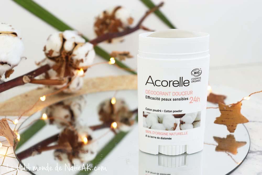 déodorant stick bio Acorelle