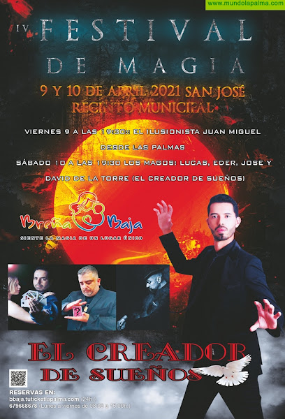 "BREÑA BAJA: IV Festival de Magia ""Breña Baja Mágica"""