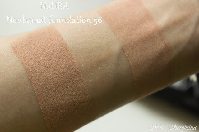 NoUBA Noubamat Wet & Dry Compact Foundation 56 swatches