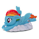 My Little Pony Happy Meal Toy Rainbow Dash Figure by Burger King