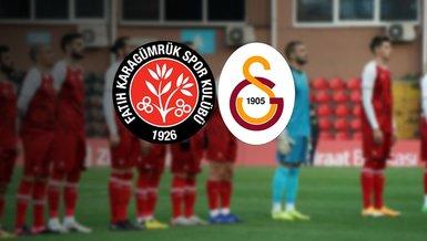 Galatasaray Karagümrük Maçı Canlı izle