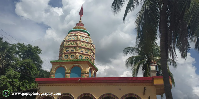Top view of Dandakali Temple Khantapada - Balasore