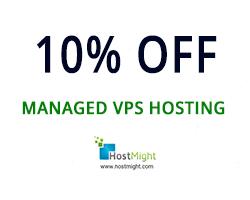 10% OFF Managed VPS Hosting