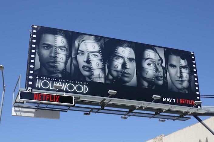 Hollywood series premiere billboard