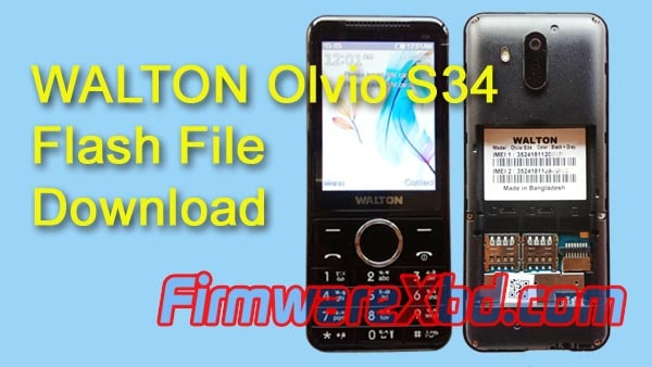 Walton S34 Flash File Download SC6531E