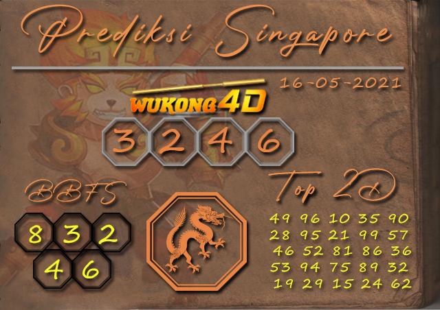 PREDIKSI TOGEL SINGAPORE WUKONG4D 16 MEI 2021