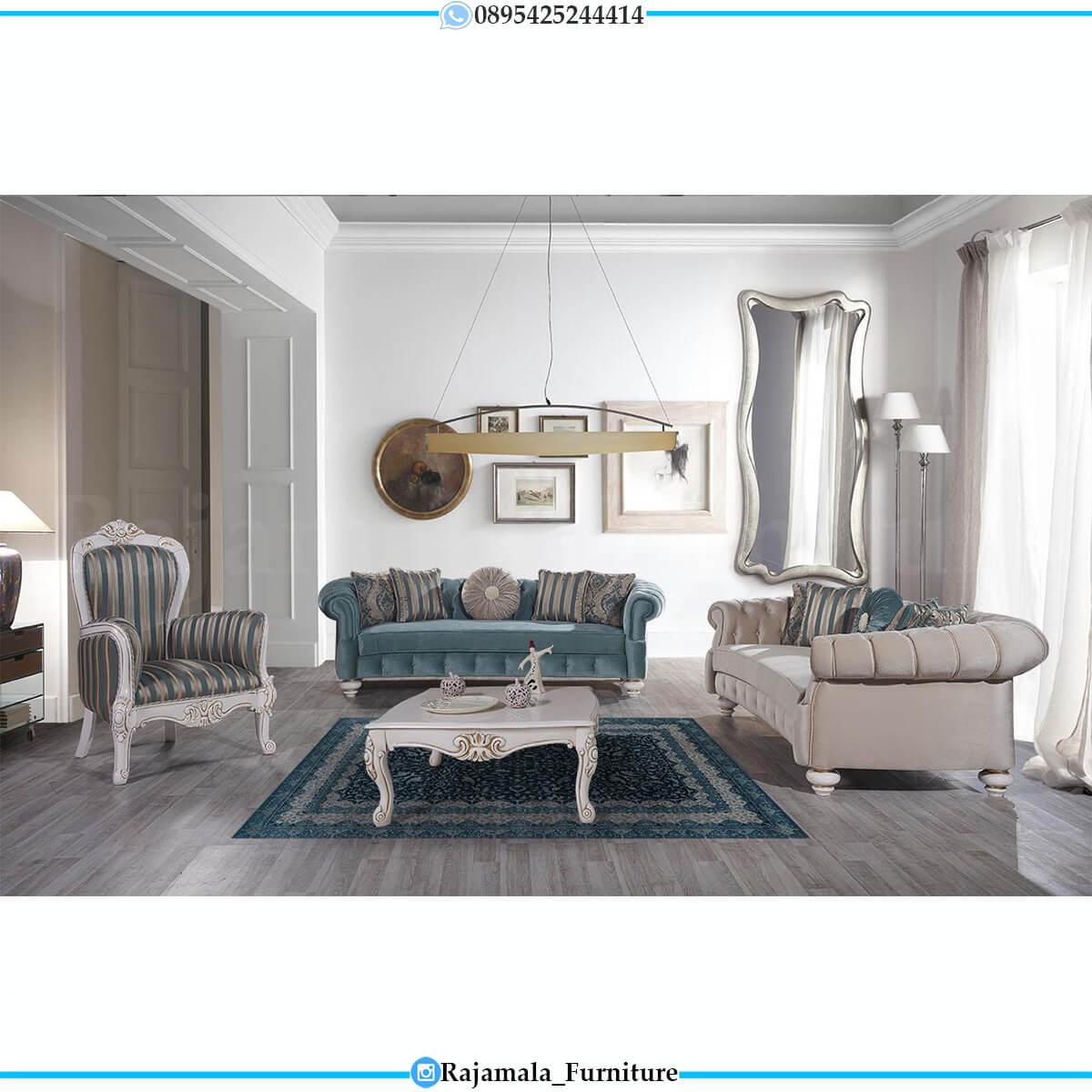 Sofa Tamu Minimalis Putih Duco Luxury Design Best Quality RM-0618