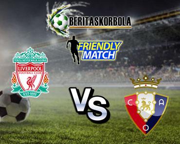Prediksi Bola : Liverpool Vs Osasuna 10 Agustus 2021