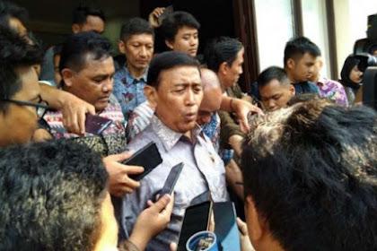 Kata Wiranto Mahasiswa yang Demo Aneh