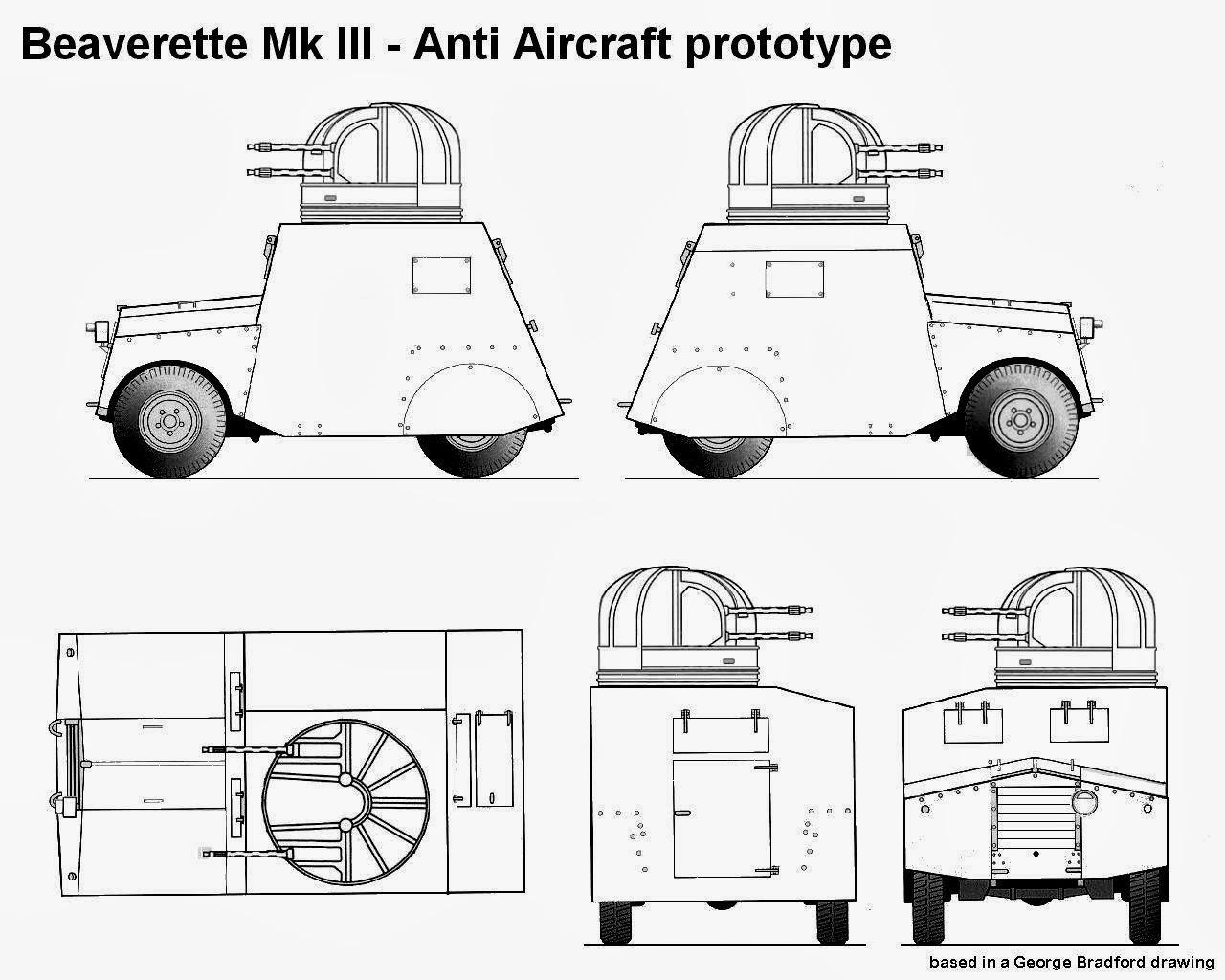 Beaverette Mk Iii Aa Prototype 4x2