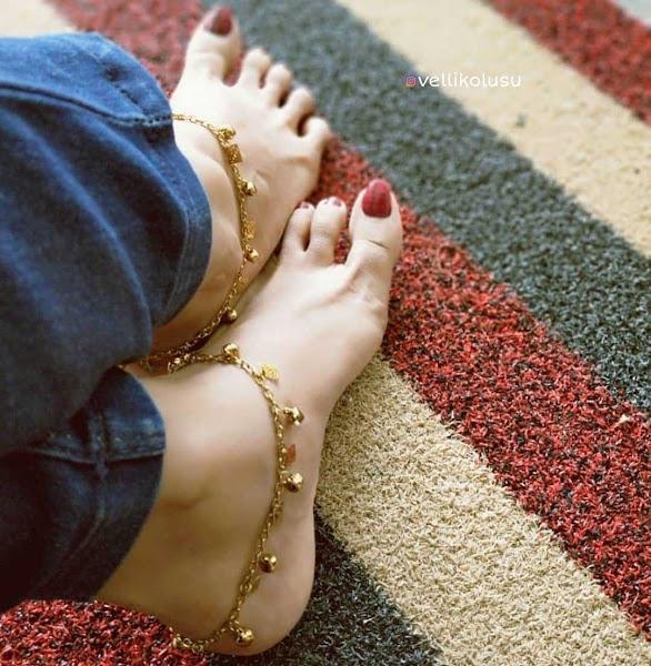 Gold Anklet Designs