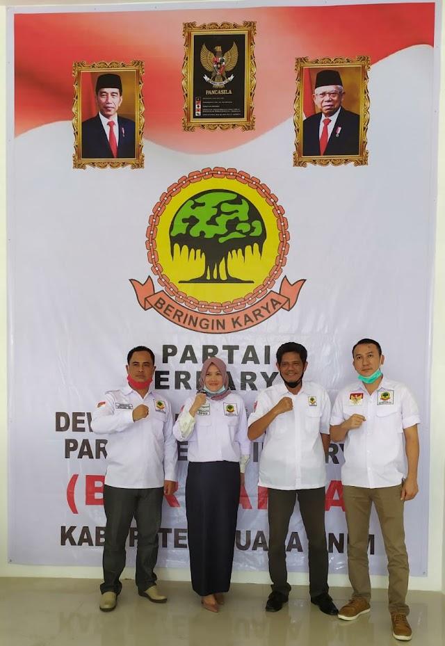 Kunjungi DPD Berkarya Kabupaten Muara Enim, Herman Sebut DPD Muaraenim Kebanggaan Sumsel
