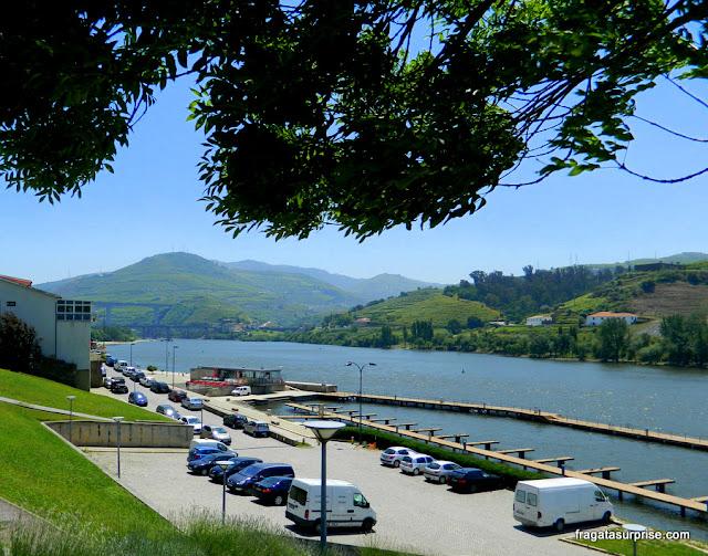 Cais turístico de Peso da Régua, ponto de partida de passeios de barco até Pinhão