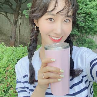 snsd yuri smile green challenge