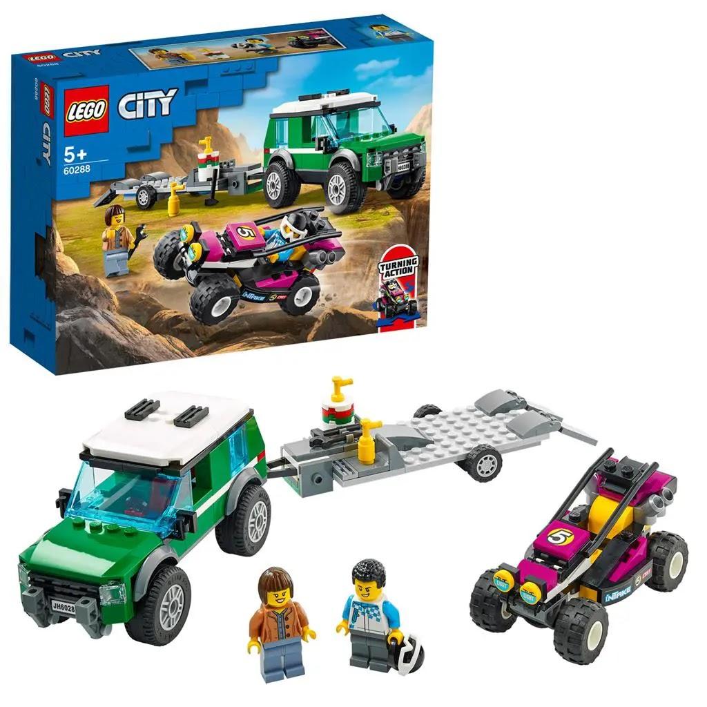 レゴ(LEGO) シティ レーシングバギー輸送車 60288