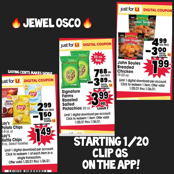 Jewel Osco Hot Coupons to Clip this Week