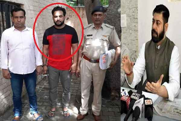 vikas-chaudhary-murder-case-accused-hawaldar-raju-arrested-by-cia