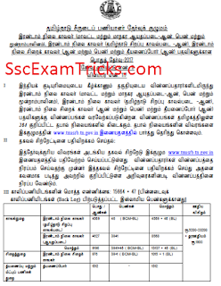 TNSURB Recruitment notice