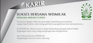 Lowongan Kerja PT. Wismilak Inti Makmur Tbk.
