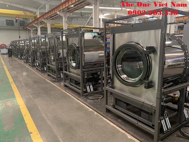Hệ thống máy giặt công nghiệp chân mềm