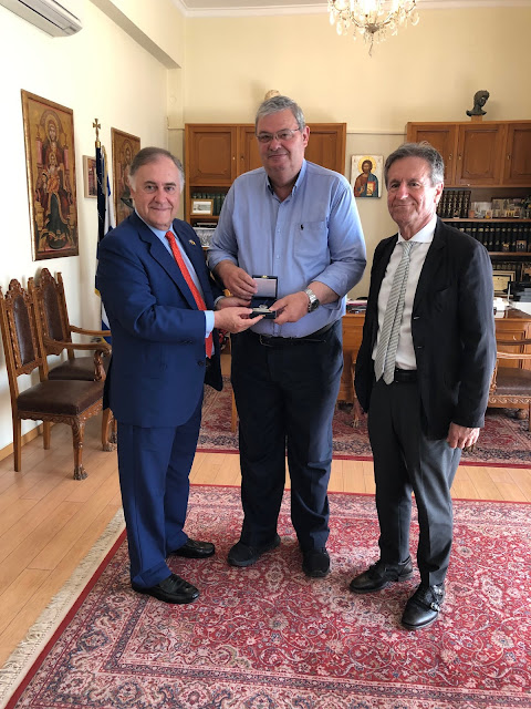 Τουρισμός και τοπικά προϊόντα στο επίκεντρο της συνάντησης του Περιφερειάρχη Ηπείρου με τον Πρέσβη της Ισπανίας στην Ελλάδα