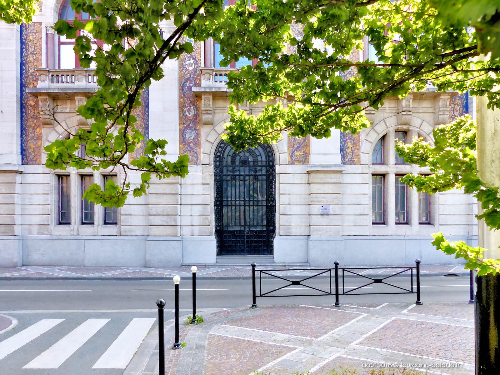 Portail ancienne école des Beaux-Rats, Tourcoing