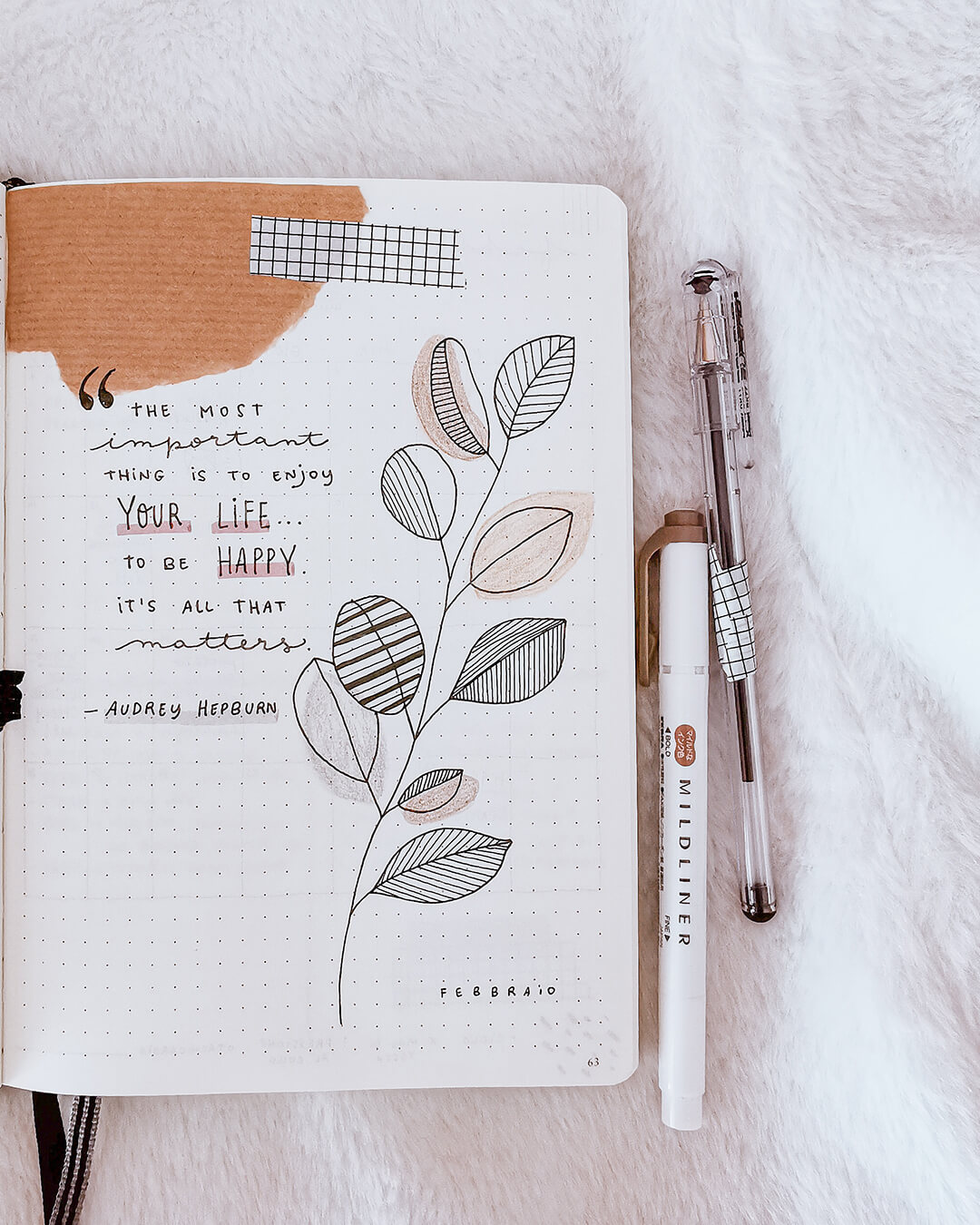 Bullet Journal per blogger: pagine e idee per ispirarti