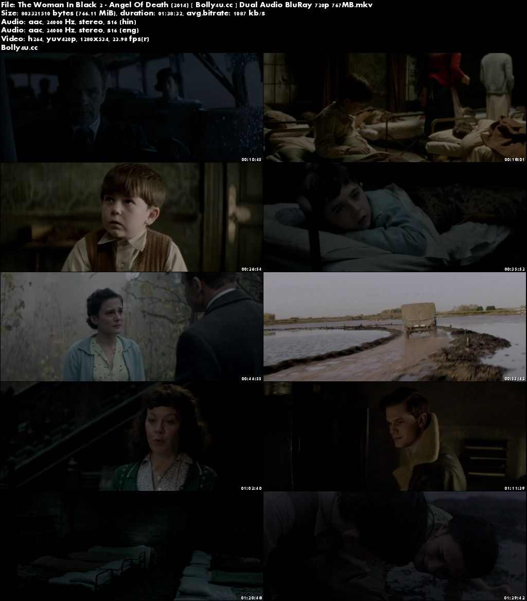 The Woman In Black 2 Angel Of Death 2014 BRRip 750Mb Hindi Dual Audio 720p Download