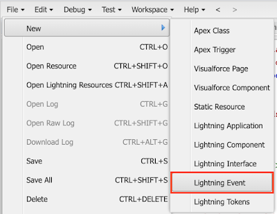 events in salesforce lightning component by salesforcekid