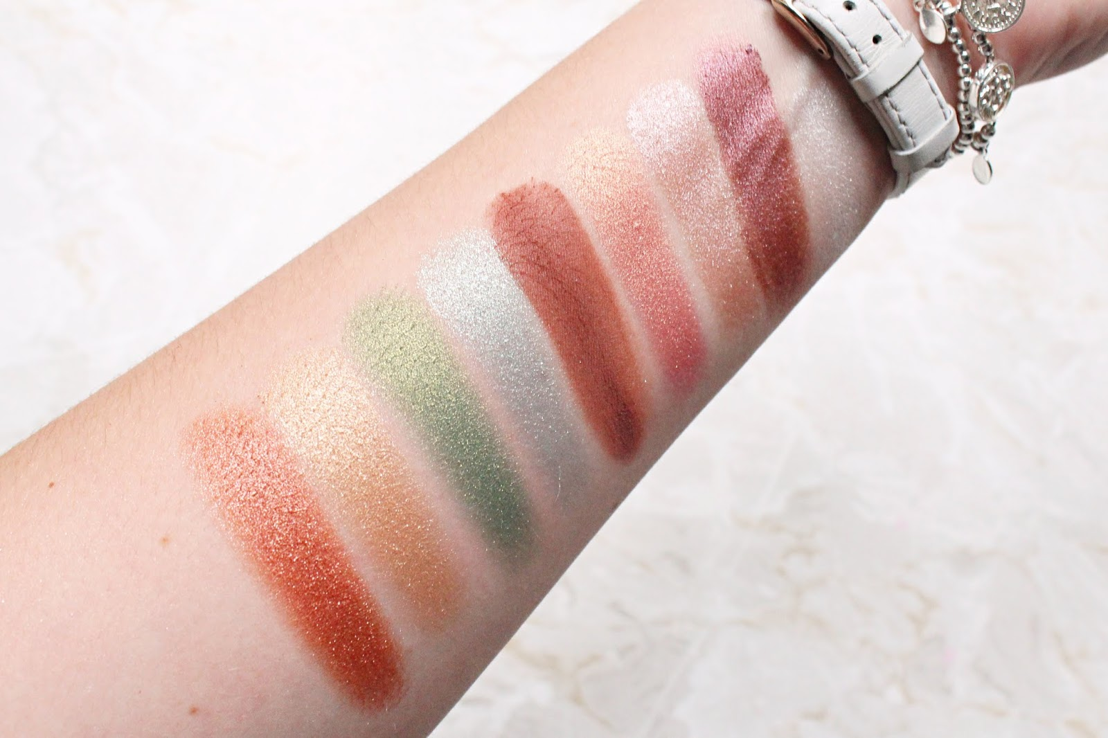 Essence Crystal Powder Palettes Review & Swatches