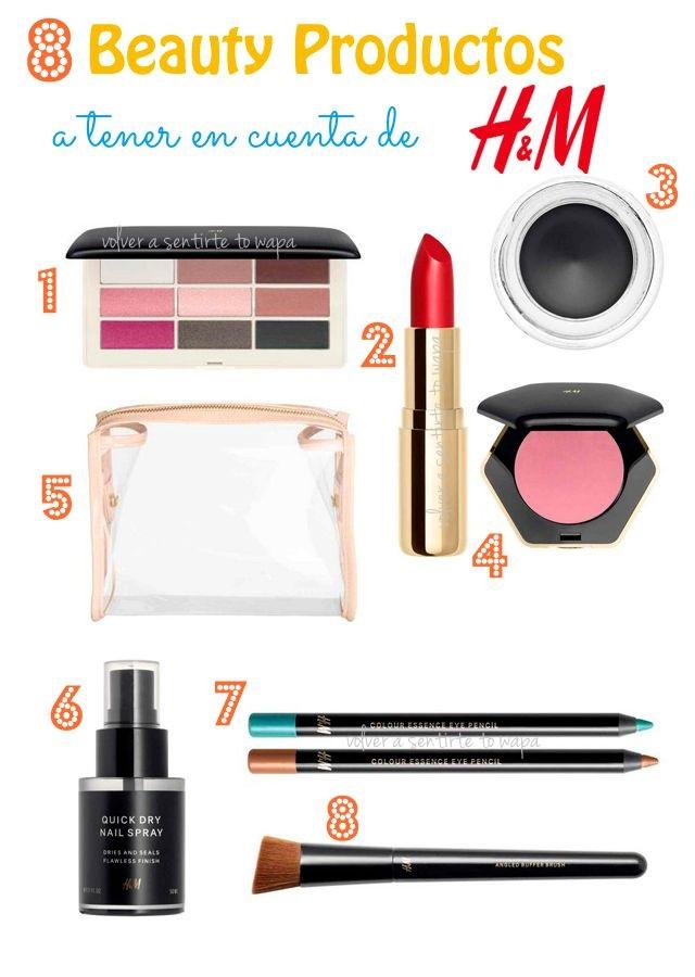 8 Beauty Productos de H&M a tener en cuenta