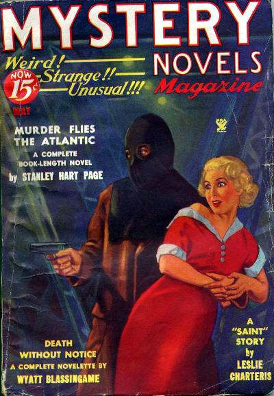 Rough edges february 2013 i dont know much about this pulp except that it ran for nine issues during the mid thirties nor do i know anything about the author of the lead novel fandeluxe