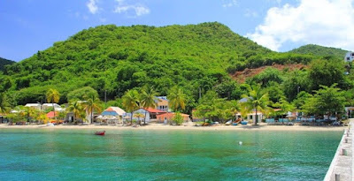 Paysage Martinique plage