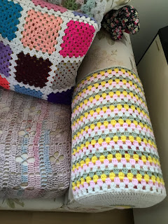 crochet armrest cover pattern