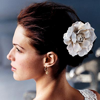 hot celebrities celebrity wedding hair pictures