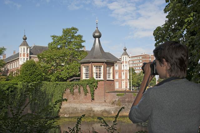 Valkenbergpark kasteel KMA leren ZIEN